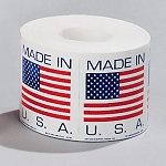 2 x 2  'Made in the USA' Label  1000/RL