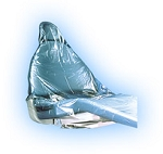 20 x 7 x 36 Dental Chair Covers  617/Roll