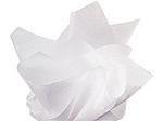 15 x 20  Crystal White Tissue Paper 2 Ream/Pkg **Priced by ream** 480 Sheets per Ream