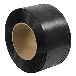 "1/2"" x .031 Black Poly Strapping 8 X 8 CORE 7200'/CL"