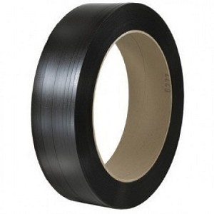 "1/2"" x .031 600# Black Poly Strapping 7200'/CL 16 x 6 Core"