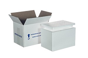 "Cooler #4 w/Carton  1 1/2"" Thick Wall"