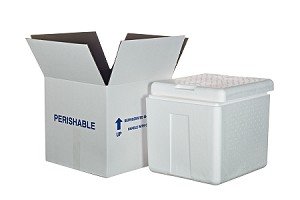 "Cooler #2 w/Carton   1"" Thick Wall"