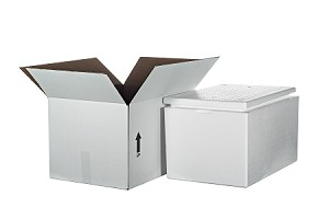 "Cooler F-2 w/Carton  1"" Thick Wall"