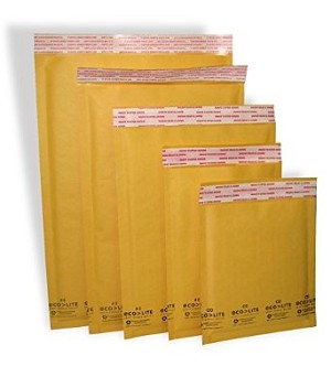 #6 Ecolite Bubble Mailer Self Seal 12 1/2 x 19  50/CS